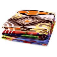 Pack of 3 Designer Printed Double Fleece Blanket-CA_1212