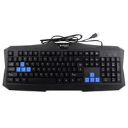 Zebion Bluemoon Usb Keyboard Mouse Combo (Black)