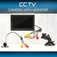 CCTV Camera with Monitor