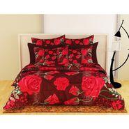 Storyathome Maroon 1 Double Quilt - Comforter-CF1207