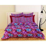 Storyathome Maroon 1 Double Quilt - Comforter-CF1209