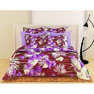 Storyathome Purple-Maroon 1 Double Quilt-Comforter-CF1211