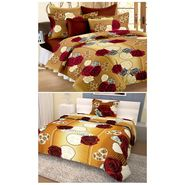 Storyathome 100% Cotton Double Bedsheet & 1 Single Bedsheet With 3 Pillow Cover -CN_1203-FY1408