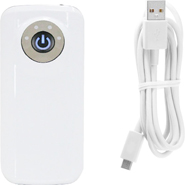 Callmate 5600 mAh Power Bank Mobile Charger with LED Torch Light