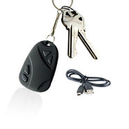 Car Keychain with Hidden Digital Camera