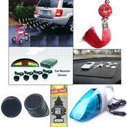 Combo of Car Vacuum Cleaner + Parking Sensor + Air Perfume + Fengshui + Non Slip Matt + Tweeters