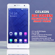 Celkon Big Screen Dragontrail 4G Smart Phone