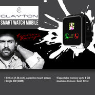 Clayton Smart Watch Mobile