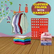 Clothes Folder with Hangar