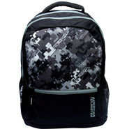 American Tourister Polyester Black Backpack -ams13