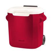 Coleman 16 QT (15.14L) Wheeled Cooler Red