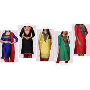 Collection of 5 Designer Kurtis by Pakhi (5AK1)