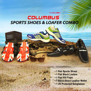 Columbus Sports Shoes & Loafer Combo
