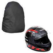 Rainy Day Combo - Helmet+Laptop Backpack Cover