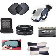 Combo of 7 car interior accessories