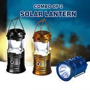 Combo of 3 Solar Lantern