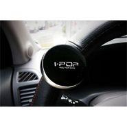 i-Pop Black Big Size Car Steering Wheel Power Holder Knob Spinner