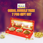 Coral Double Tone 7 Pcs Gift Set