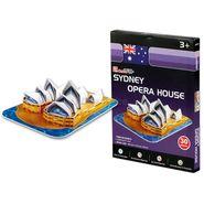 Cubic Fun 30pcs 3D Puzzle SYDNEY OPERA HOUSE MODEL World's Great Architecture