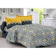 Valtellina 100% Cotton Double Bedsheet with 2 Pillow Cover-215-A