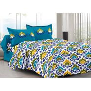 Valtellina 100% Cotton Double Bedsheet with 2 Pillow Cover-3003-D