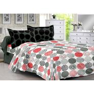 Valtellina 100% Cotton Double Bedsheet with 2 Pillow Cover-3008-D