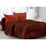Valtellina 100% Cotton Double Bedsheet with 2 Pillow Cover-3019-B