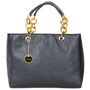 Nova PU Black Shoulder Bag -gd17