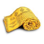 Jaipuri Print Cotton Double Bed Razai AC Quilt-DLI4DRZ334