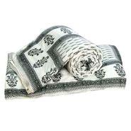 Set of 2 Jaipuri Print Cotton Double Bed Razai AC Quilt-DLI4DRZ3392