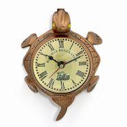 Little India Pure Brass Lucky Omen Tortoise Antique Wall Clock 366