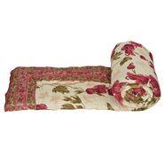Jaipuri Print Cotton Single Bed Razai AC Quilt-DLI4SRZ104