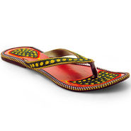 Branded Womens Sandal Green -MO328