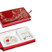 Expressive Pooja Thali and Kaju Rolls Gift Pack_DMB1443
