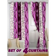 Set of 4 Printed Door curtain-7 feet-DNR_2_2007