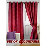 Set of 4 Printed Door curtain-7 feet-DNR_2_3023