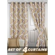 Set of 4 Printed Door curtain-7 feet-DNR_2_3026