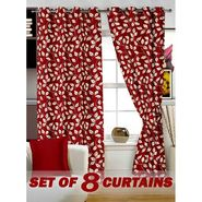 Set of 8 Printed Door curtain-7 feet-DNR_4_2017