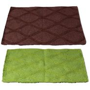 Storyathome Set of 2 Cotton Blend Doormat-DN_1412-1411-Z