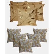 Dekor World Ultima Floral Combo. Cushion Cover(Pack of 10 Pcs)-DWCB-136