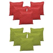 Dekor World Beyond Colours Cushion Cover Combo Set (Pack of 10 Pcs)-DWCB-167