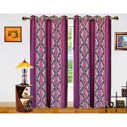 Dekor World Signature Window Curtain-Set of 2 -DWCT-770-5