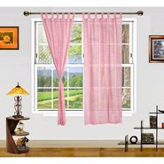Dekor World Summer Fun Window Curtain- Set of 2 Pcs-DWCT-891-5