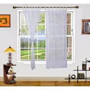 Dekor World Summer Fun Window Curtain- Set of 2 Pcs-DWCT-893-5