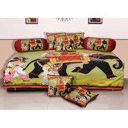 Set of 8 Dekor World Velvet Digital Printed Diwan Cover Set-DWDS-0118
