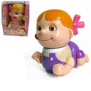 Naughty Baby Girl Toy With Light, Music, Bump N Go Mystery Action & Swing