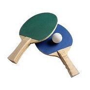 Pair Of Beginner Table Tennis Racquets - 2 Racquet,Balls