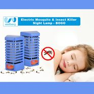 Electric Mosquito & Insect Killer Night Lamp - BOGO