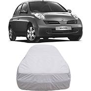 Digitru Car Body Cover for Nissan Micra Active - Silver