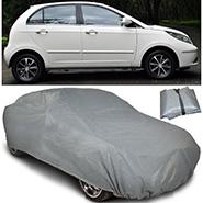 Digitru Car Body Cover for Tata Indica Vista - Dark Grey